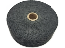 DEI Термолента графитовая Black Glass Fiber Exhaust Wrap 15 метров 2''x50ft (5см/15м)