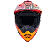 Troy Lee Designs Шлем Troy Lee Designs - 2016 SE3 Reflection (Red/Black/Orange) р-м ( М )