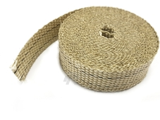 DEI Термолента стандартная Tan Glass Fiber Exhaust Wrap 4.6 метров 1''x15ft (2.5см/4.6м)