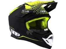 509 Шлем Carbon Altitude Fidlock Off Grid Hi-Vis р-м (L) 59-60 см.