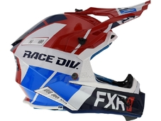 FXR Шлем Helium Race Div Red/White/Navy/Blue (размер M) в Москве